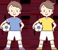 子供のスポーツイラスト