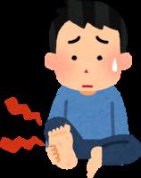 足底筋膜炎のイラスト