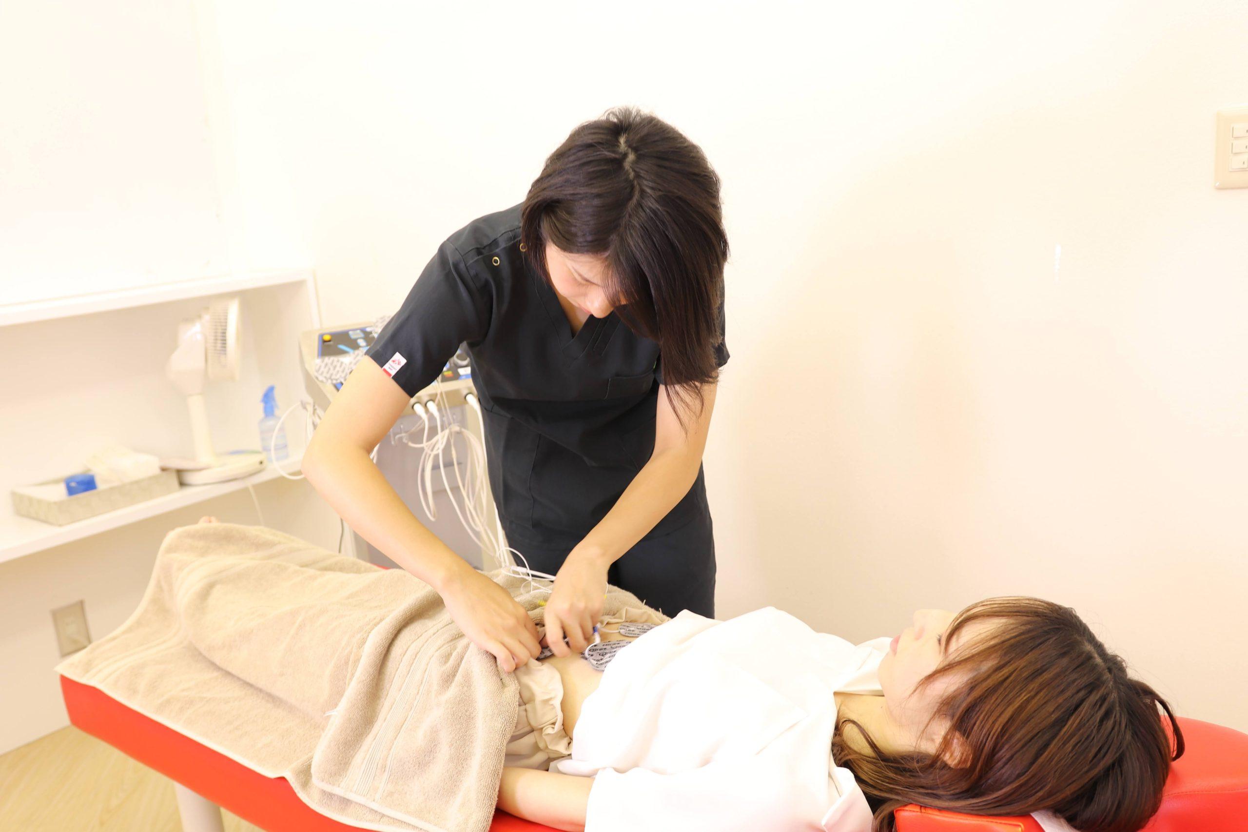 むさし鍼灸整骨院グループの楽トレの施術写真