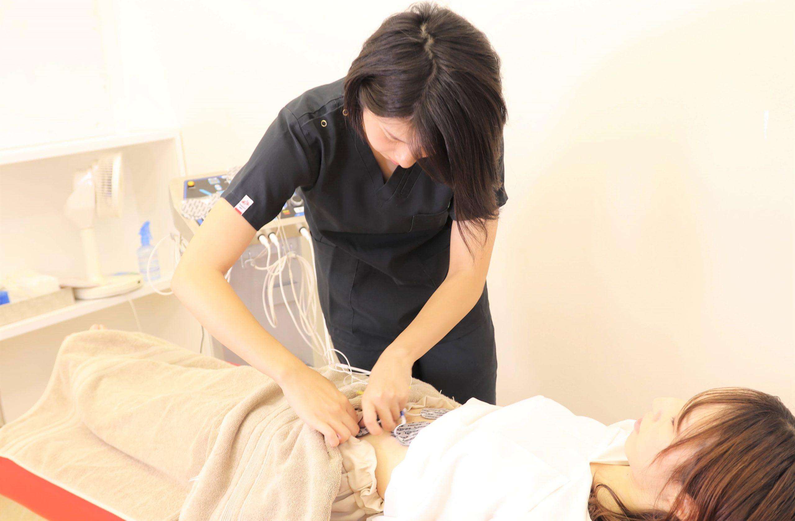 むさし鍼灸整骨院のインナーマッスルトレーニングの写真