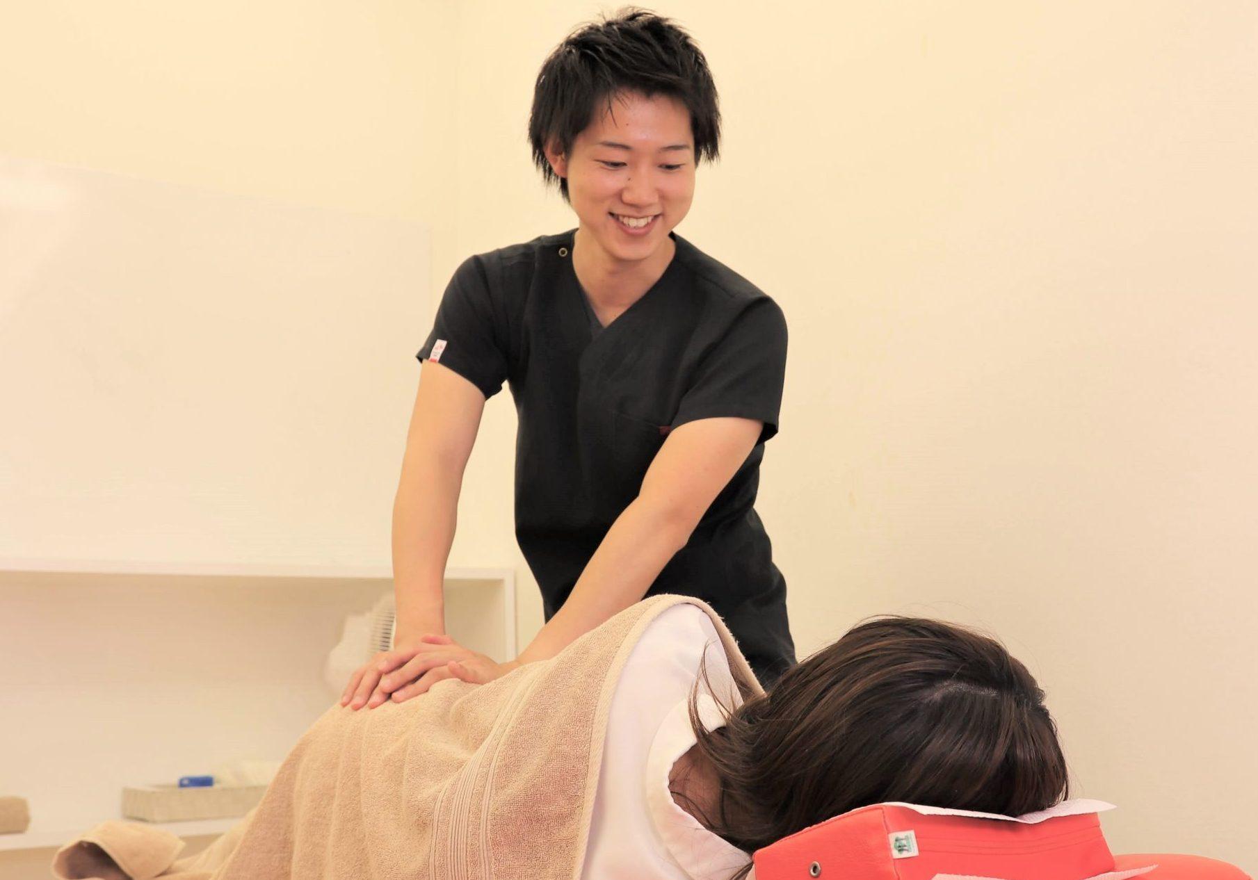 むさし鍼灸整骨院の施術写真