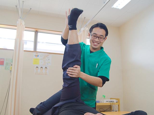 きりん鍼灸整骨院の施術写真